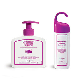 Doublebase Emollient Shower Gel and Doublebase Emollient Wash Gel
